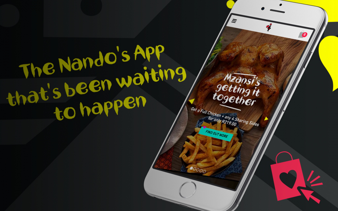 Nando's launches their own food ordering app